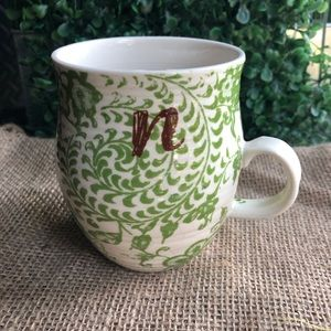 """Anthropologie: Homegrown Collection """"n"""" CUP/Mug"""